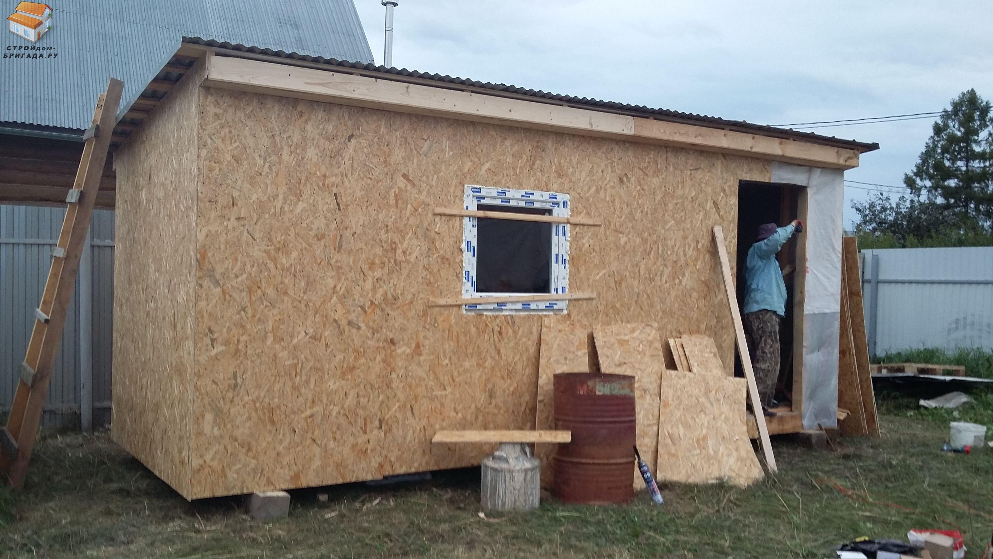Как построить дом из плит своими руками